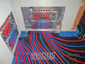 Rozdelovac pre podlahove kurenie