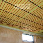 Montáž stropného chladenia a vykurovania
