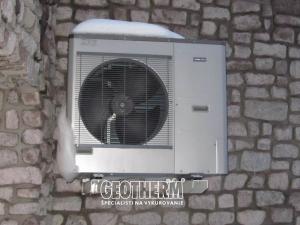 Tepelné čerpadlo NIBE vonkajšia jednotka Hradec