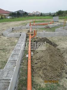 Pokládka kanalizácie