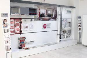 Rehau showroom v Geotherme