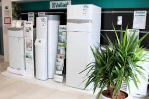 Vaillant showroom v Geotherme