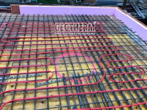 Temperovanie betónového jadra
