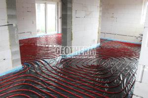 Rehau podlahove vykurovanie Hrnciarovce
