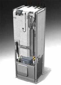 Vnútorné členenie tepelného čerpadla NIBE F1245