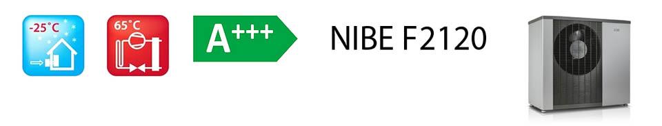 tepelné čerpadlo NIBE F2120