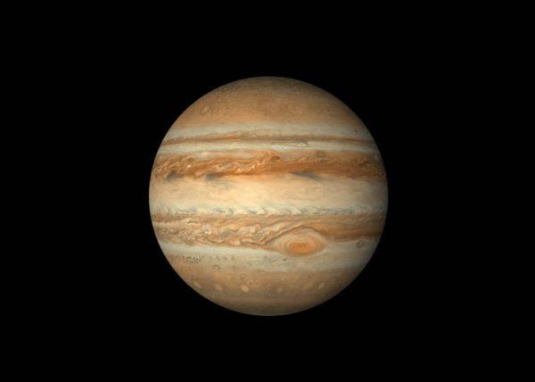 Jupiter pozorovanie 2019