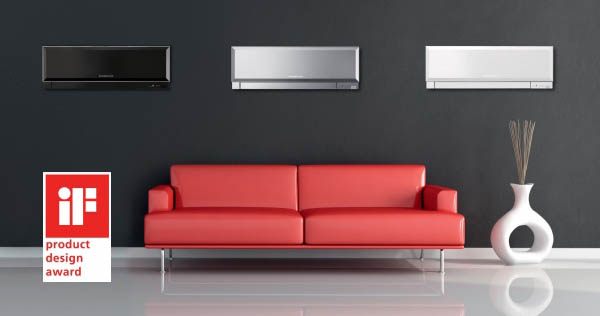 klimatizácia, moderná, dizajnová