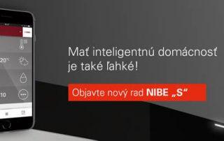 Inteligentné tepelné čerpadlo NIBE S