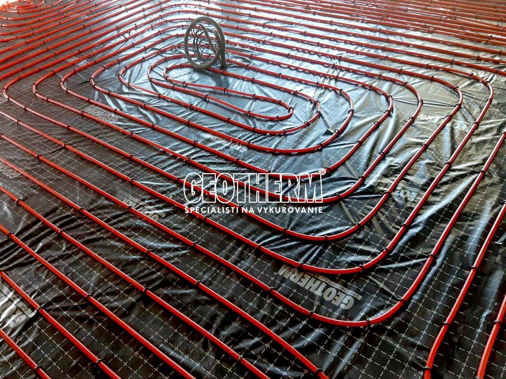 Podlahové vykurovanie Devín