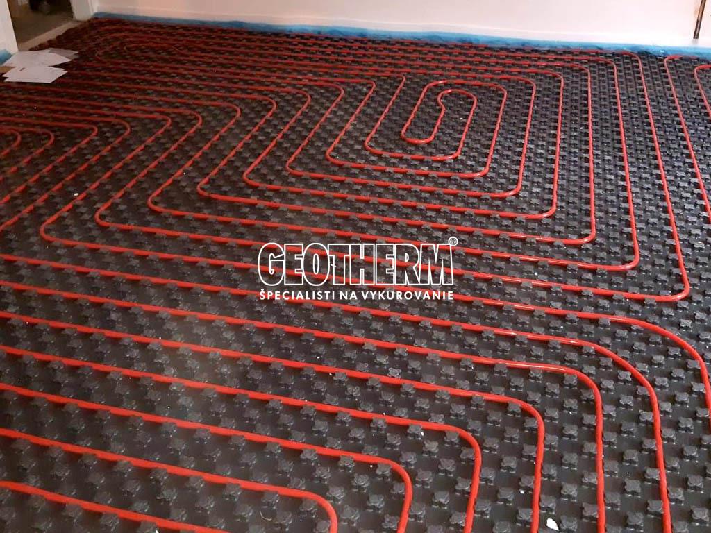 Systémová doska podlahové vykurovanie