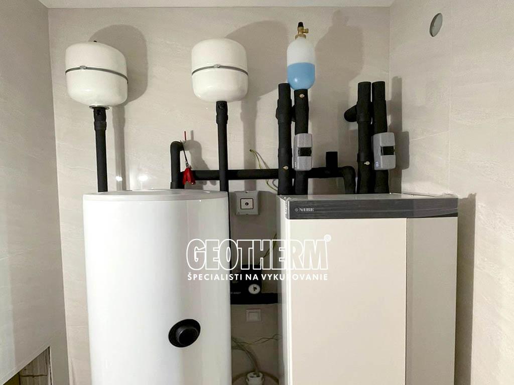 Moderné tepelné čerpadlo NIBE S