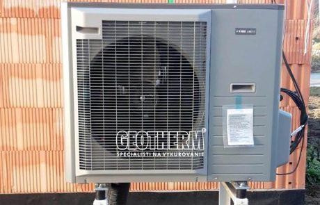Tepelné čerpadlo vzduch-voda Devín