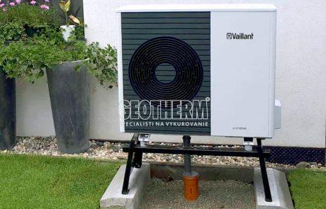 Tepelné čerpadlo vzduch-voda Vaillant