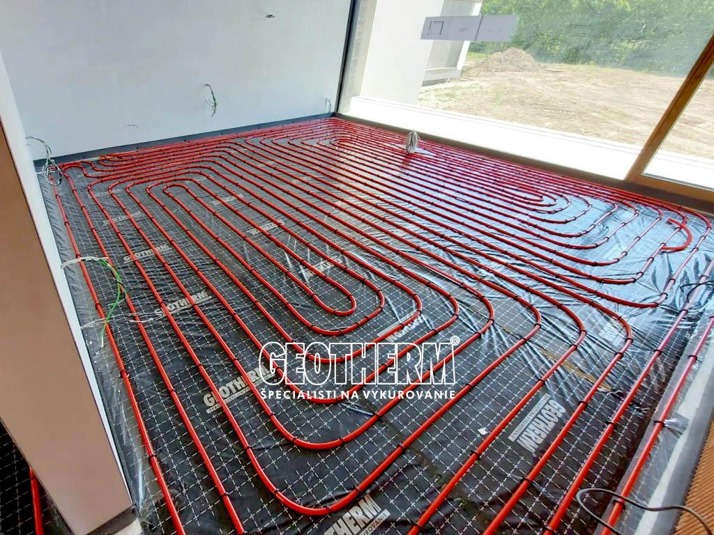Podlahové kúrenie 500m22
