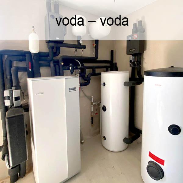 Tepelné čerpadlá voda-voda