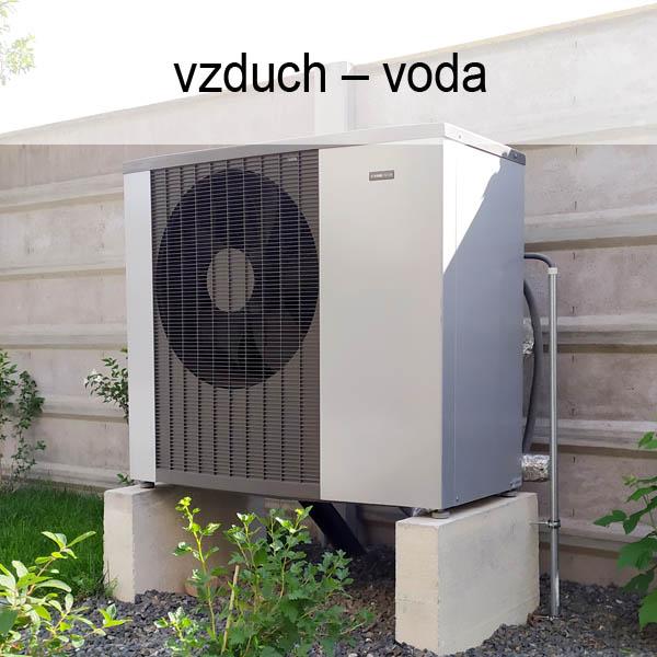 Tepelné čerpadlá vzduch-voda